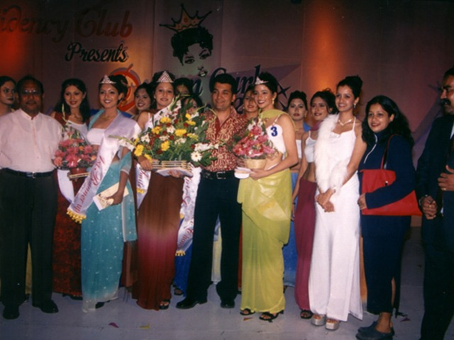 May Queen Ball Event 2002