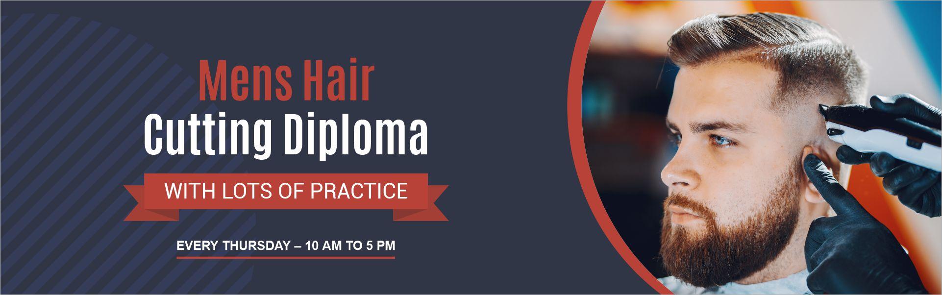 Mens Hair Cutting Diploma