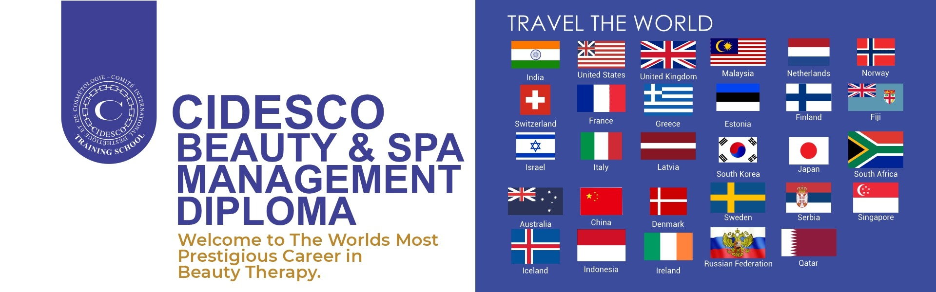CIDESCO Beauty & Spa Management Diploma