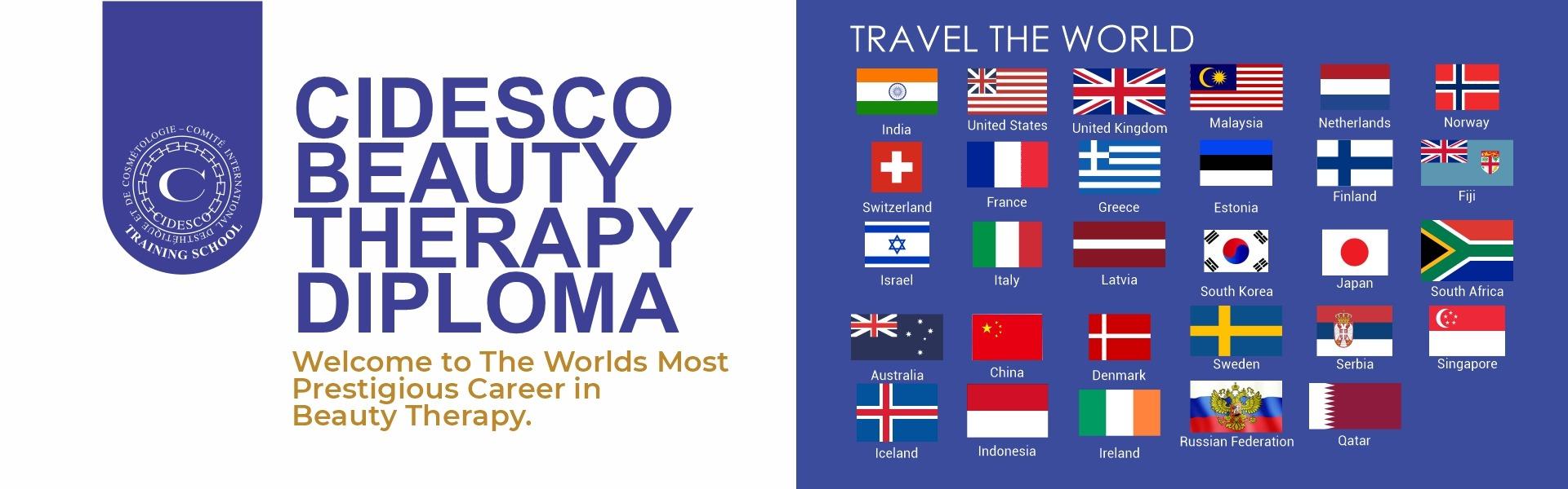 CIDESCO Beauty Therapy Diploma Course