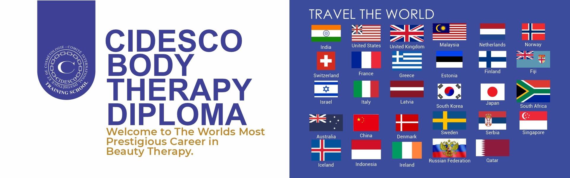 CIDESCO Body Therapy Diploma Course