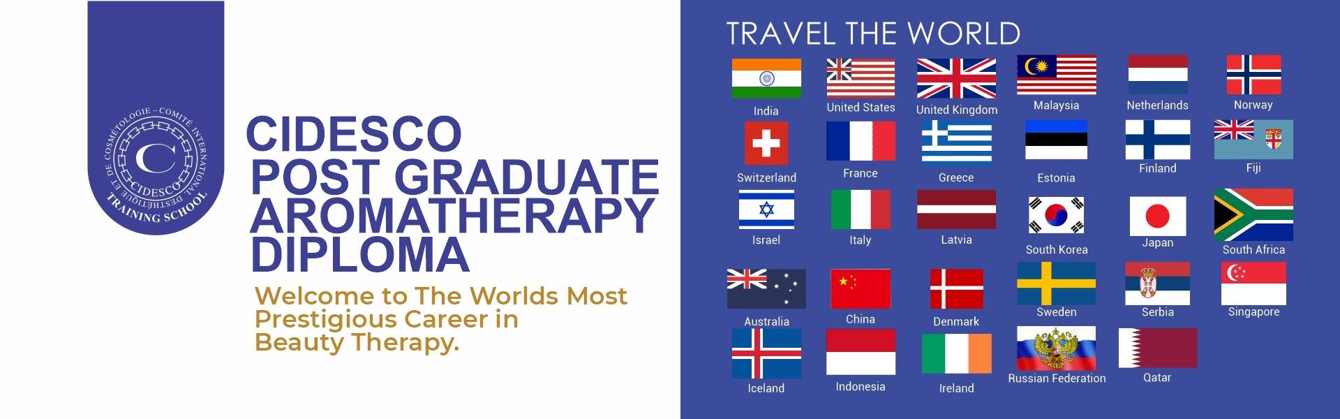 CIDESCO Post Graduate Aromatherapy Diploma