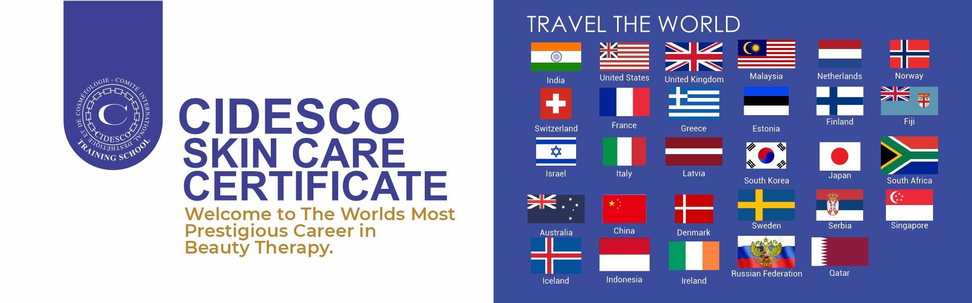CIDESCO Skin Care Certificate Course